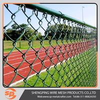 competitive Powder painting welded 3d curved fencing pvc coated chain link mesh