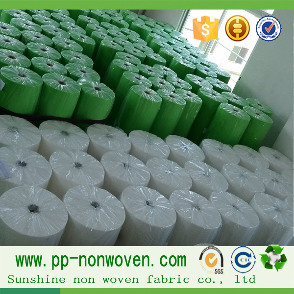 100% Polypropylene Material TNT fabric, home textile, spunbond nonwoven fabric