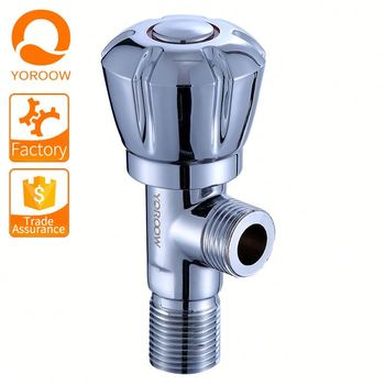 Guyana Cheap Price 1/2 inch 90 degree chromed cold angle valve