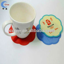 Custom Anti-Slip Fashionable Silicone Cup Pad