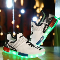 Led Kids Shoes Light Sport Shoes