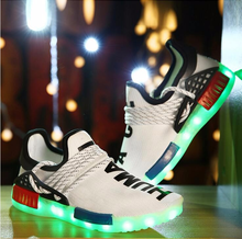 Led kids shoes light sport shoes glow sneakers