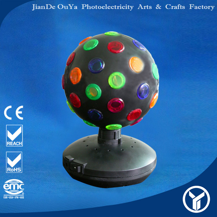 "High quality 6"" disco ball light E-14 12V 7W"