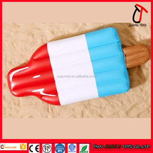 Hot sale float inflatable ice cream mattress for advertising