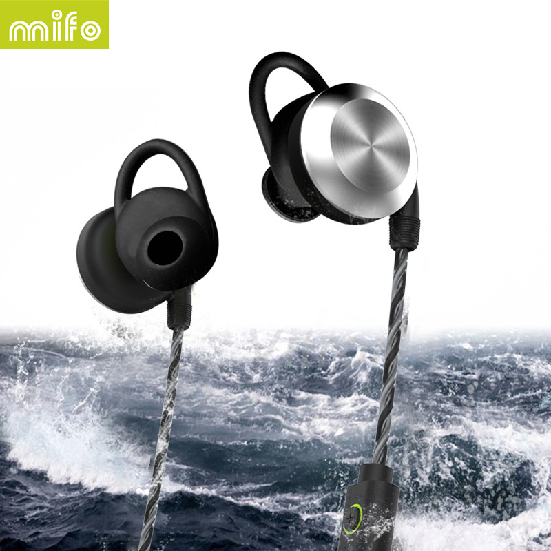 mifo <strong>U2</strong> High Quality Wireless Bluetooth Headphones Sport Waterproof Earphone Magnet Design Headset Stereo Hifi Earbuds With Mic