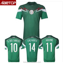 Sublimation printing classic soccer jersey football shirt jerseys no logo mexico 2017