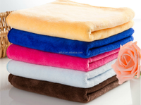 Super-absorbent 70% polyester and 30% polyamide microfiber towel