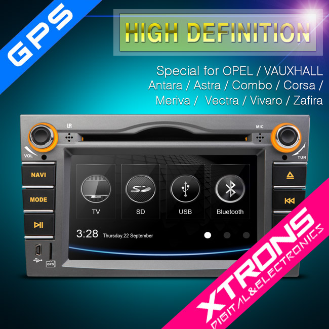 "6.2"" HD Touch screen 2 din DVD player with gps Special of opel (With canbus)"