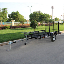 Black Powder Coated Landscape Trailers for Wholesale