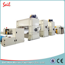 Nonwoven smart waste fiber felt needle punching production line