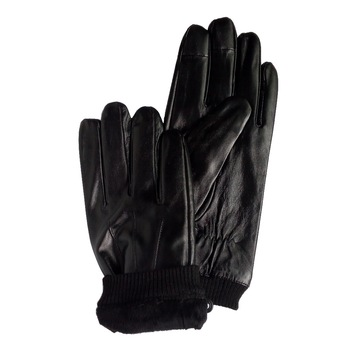 cheap magic touch screen leather gloves on sale stock lamb leather gloves stock clearance
