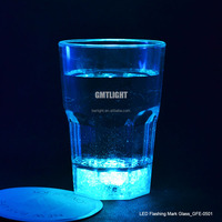 From GMTlight Manufacturer Flashing Mark LED Drinking Glass