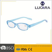 High grade plastic reading glasses new designer eyewear ,bright color eyeglasses with diamond