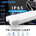 LED tube fixture tracksportation hub 2700-6500K 900lm-4400lm tri proof led light fixture