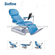 CE Approved Electric Blood Chair Medical Laboratory Equipment