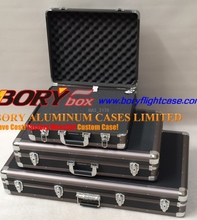 Wonderful aluminum equipment case any size gun case box