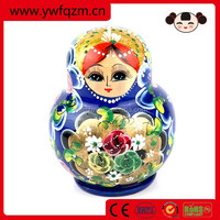Wooden Decoration Doll for home