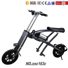 china manufacturer wholesale Portable mini folding electric bike