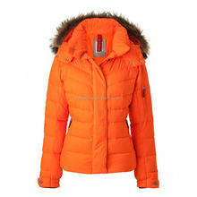 Far Infrared Battery Heated women winter downs coat