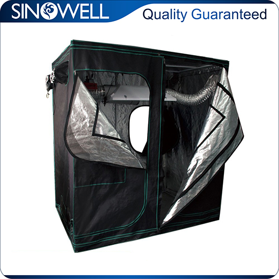 Factory Wholesale Price Quality Assured garden greenhouse hydroponic system grow tent