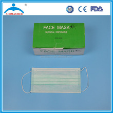 2ply/3ply/4ply elastic earloop disposable face mask