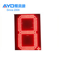 Hotcake REGULAR Red Time Tempreture 7 Segment Electronics Scoreboard Wireless Gas Station LED Price Sign LED Open Sign 20 Inch