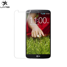 Factory direct mobile phone protector film japanese glue 9h tempered glass for lg g2 screen protector