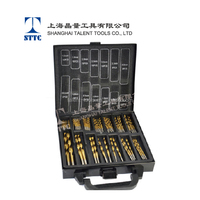 Factory price for HSS 99PCS Twist Drill bit Set, Titanium Coated drill bit,Metal Box