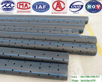 Low installation cost HDPE perforated pipe drainage pipe underground