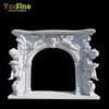 Luxury Home Decor Fake Marble Fireplace Surround