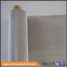 120 woven micro stainless steel wire mesh screen