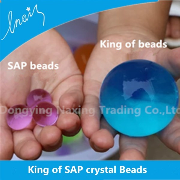 Crystal Magic Mud Soil Water Beads Flower plant For Wedding