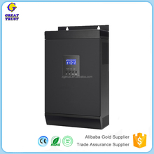 hybrid off grid power solar inverter 5000w 24v 48v with 40a 60a charge controller built-in New 2017