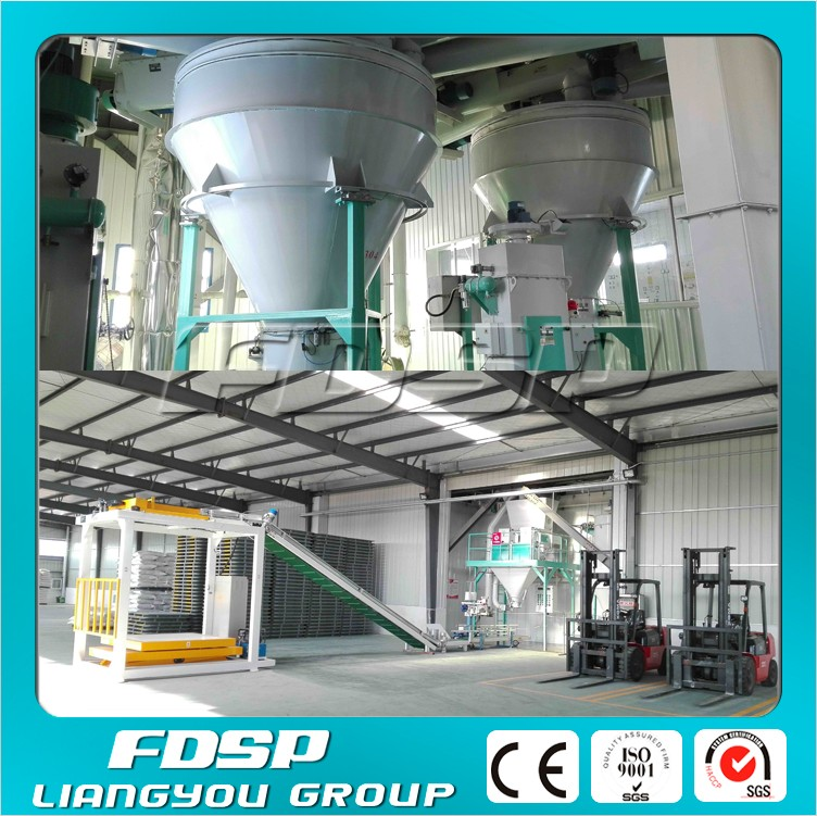 Cattle feed pellet manufacturing plant cow feed making machine project
