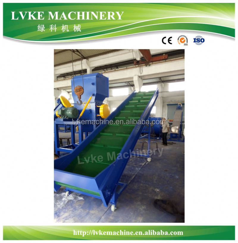 film plastic recycle machine/pe pp woven bag washing line