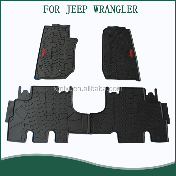 2016 New Design Car Boot Pad liner Cargo Mat Tray Trunk Floor Protector Mat For Wrangler