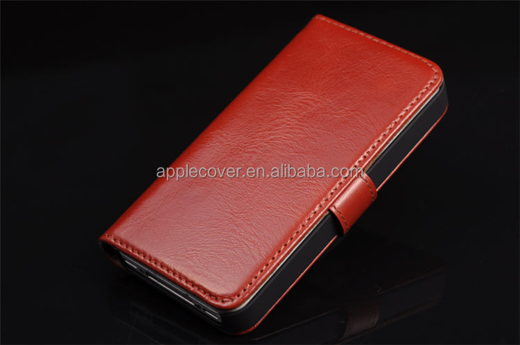 Real leather for Apple iphone 4 cases,for 4s mobile phone