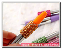 Orange roller ball pen