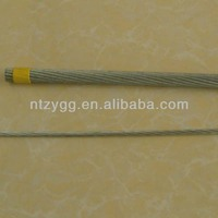 1x19 steel cable for motorbike control wire;electric wire 1x7 steel strand wire 1.8mm