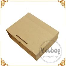 Professional paper shopping bag for dress
