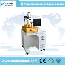New China cnc controlling system electronic components engraver fiber laser marking machine price