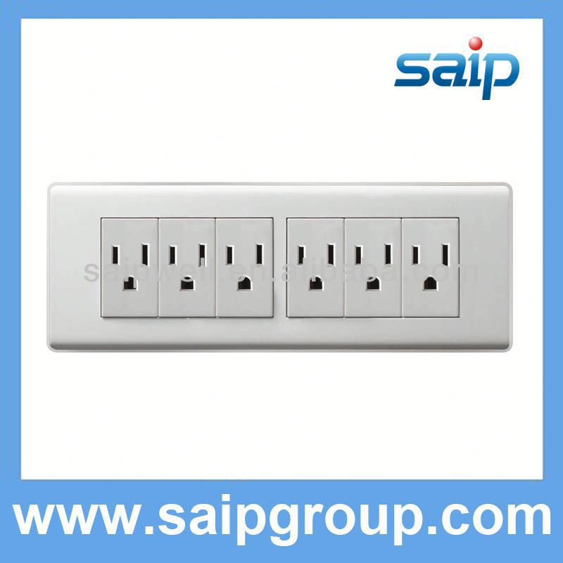 Newest design wall socket switch australia for home use