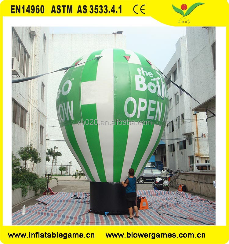 Guangzhou advertising cheap price inflatable air balloon
