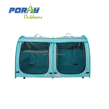 Pop up pet kennel crate with curtain cat show exhibition tent