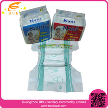 With PE Tape and Plastic Backed Baby Diapers Low Price wholesale in stocklots with bales