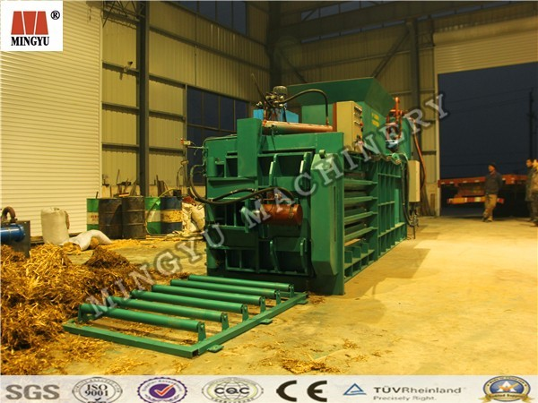 small cake fragment trash hydraumatic press balling machine for poultry production