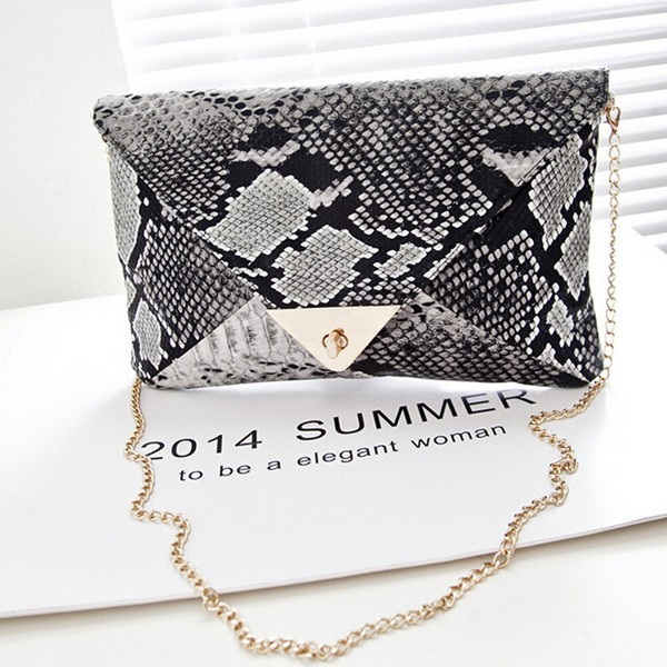 Fancy evening bags ladies clutches wholesale snake skin clutches cheap evening bags