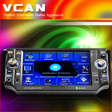 "5"" mini car one din dvd player with touch screen"