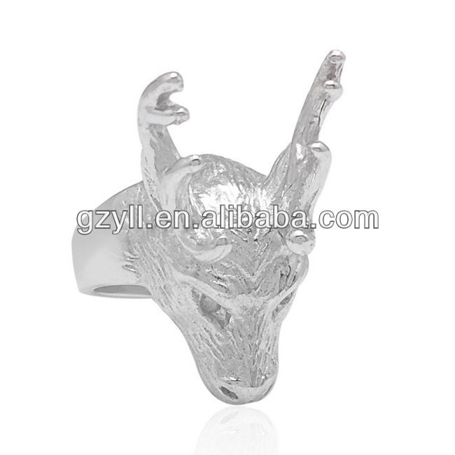 wholesale 925 sterling silver jewelry cow ring