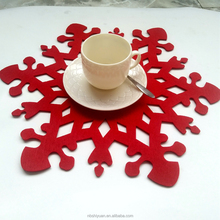 laser cut felt placemat hot selling in USA, Europe market